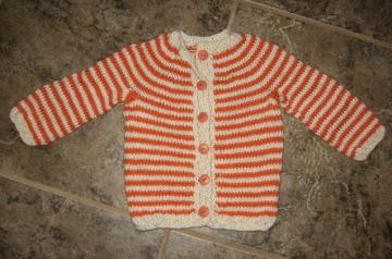 child&#039;s sweater - 18 to 24 month old - handknit