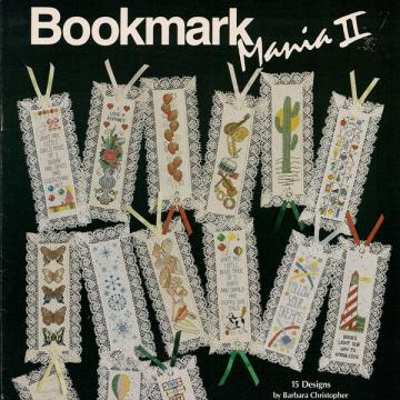 Bookmark Mania II Cross Stitch Leaflet
