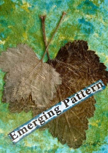 Mixed-media Artist Trading Card - Emerging Pattern