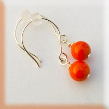 Orange Crush Earrings E093