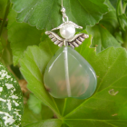 FAE - the fluorite  angel OR faerie ER $0 s&h