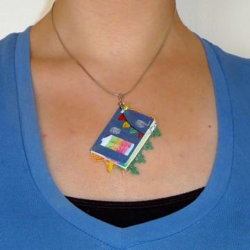 Party Book Pendant