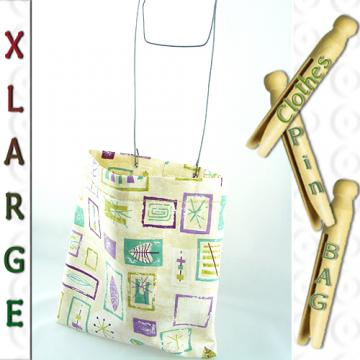 XL Clothespin or Peg Bag