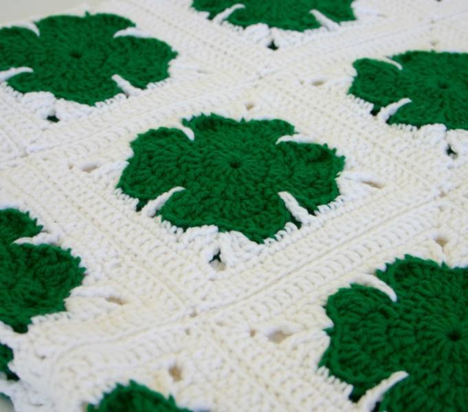Irish Shamrock Free Pattern - Crochet - All About Crocheting