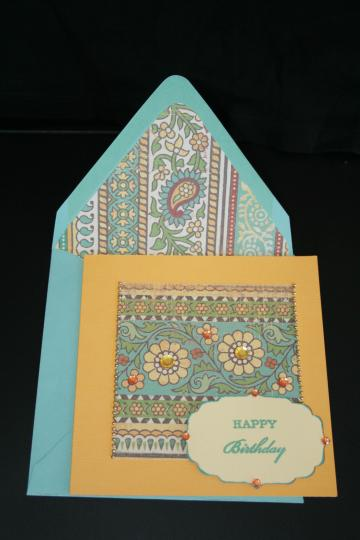 Handmade Contemporary Birthday Cards