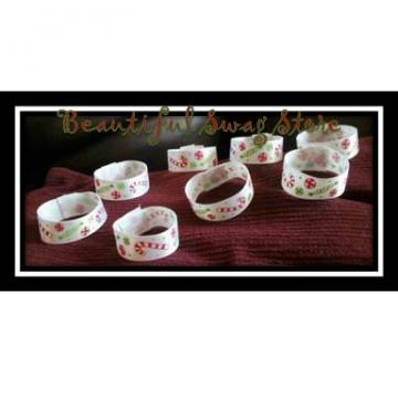 Winter Candy Napkin Ring  set