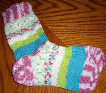Adult mix match socks