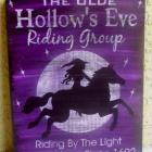 Primitives Witches Signs Horses Halloween decorations Fantasy Purple Witchcraft Wiccan Pagan decor