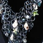 Poseidon&#039;s Treasure Chainmaille Necklace
