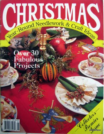 Christmas Year-Round Needlework & Craft Ideas