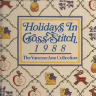 1988 Holidays In Cross-Stitch Vintage