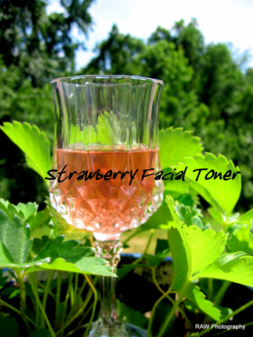 Strawberry Facial Toner