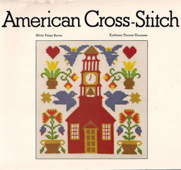 American Cross-Stitch Vintage Book