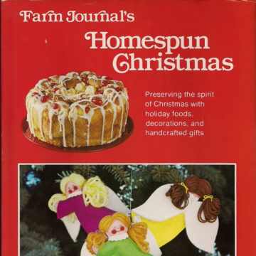 Farm Journal's Homespun Christmas Vintage Book