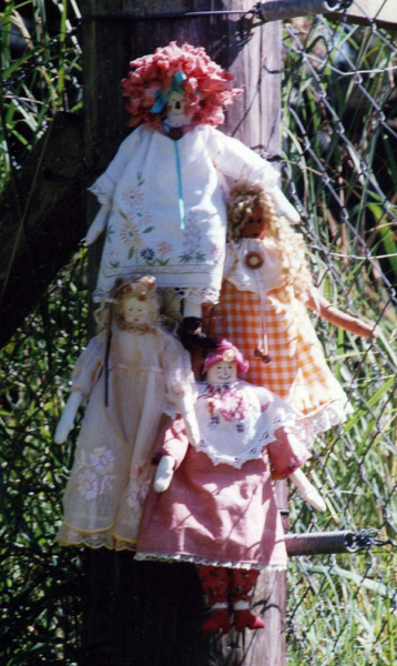 Country Women Cloth Doll Pattern -  from WARMHEART