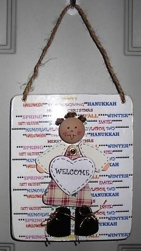 Happy Everything Doll-Hanukkah/Spring-Hanging