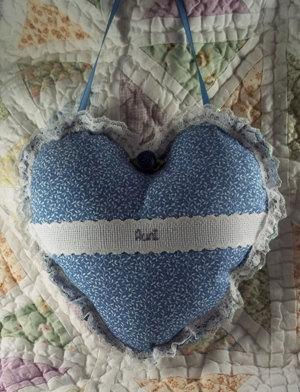 Pillow Heart-Aunt