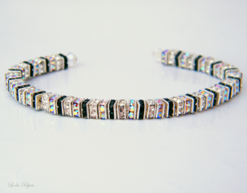 Hollywood Bracelet - Swarovski Crystal Silver Plat