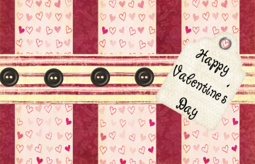 Free Shipping - Valentines Day Card *Pinky*