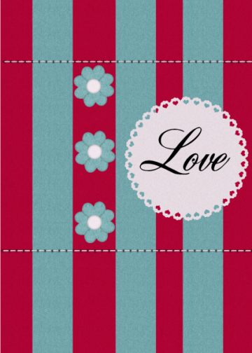 Simply Love  4x6 Card