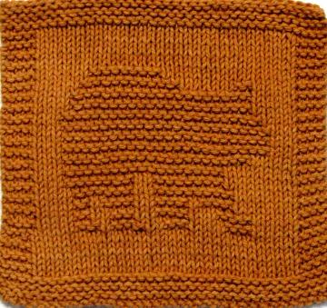Knitting Cloth Pattern - BEAR CUB - PDF