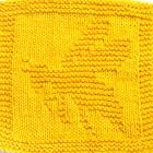 Knitting Cloth Pattern - BUBBLE BEE -PDF