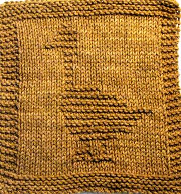  Knitting Cloth  Pattern - DUCK - PDF