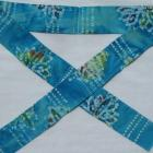 Blue Batik Neck Cooler