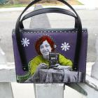Upcycled Purse, Purple, Redhead Photographer