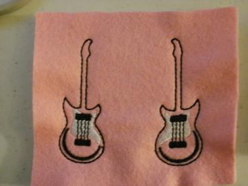 Guitar Felties