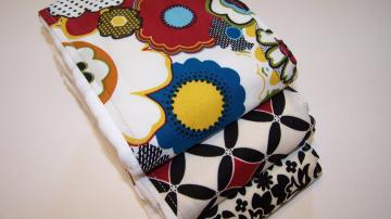Exotic and Luxurious Color Combo  Burp Cloth  Set of 3 for your Baby