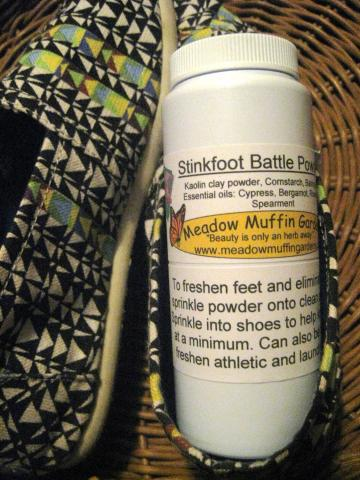 Foot n&#039; Shoe Odor Powder, talc free