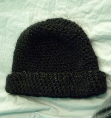 Warm Black Winter Hat
