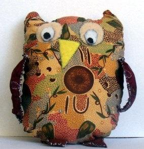 Aboriginal Print Owl