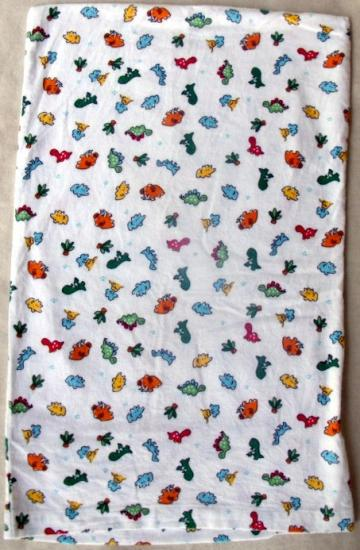 Dinosaur toddler pillow case