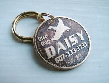 Pet Tag - Bird Dog - Custom Pet ID Tag