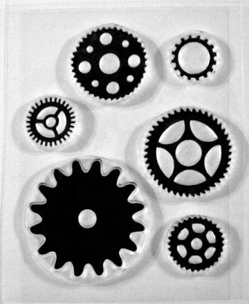 Cogs and Gears clear stamps