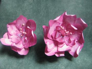 Pink Flowers set of 2