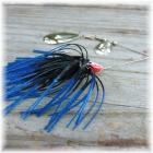 Pop's Spinner Bait Deluxe 3/8 Ounce Black and Blue