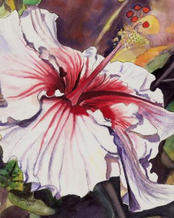 Dancing Hibiscus by Marionette from Kauai Hawaii