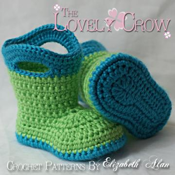 Posh Pooch Designs Dog Clothes: Free Boot Cuff Crochet pattern