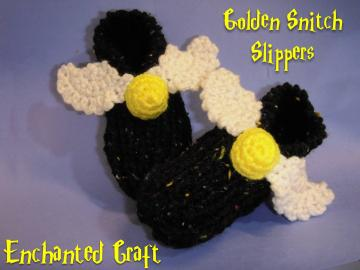 Golden Snitch booties SIZE 5