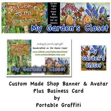 Custom Banner, Avatar &amp; Business Card Design