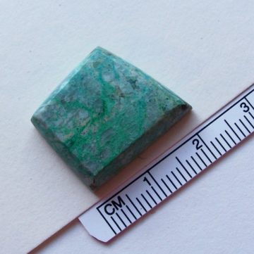 Diamond Shape Malachite Cab for Jewelry Makers