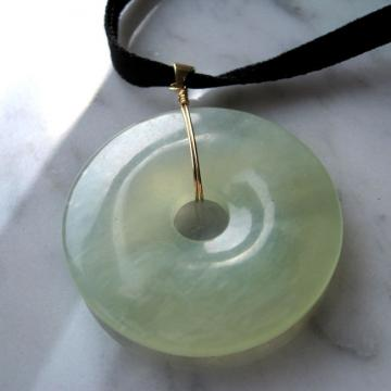 Jade Eternal Circle Pendant