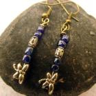 Dainty Dragonflies in Cobalt Blue