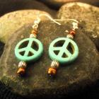 Peaceful Blues Earrings