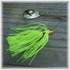 Pop's Spinner Bait Single Spin 3/8 Ounce Chartreuse