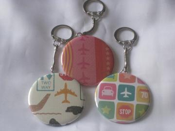 Keychain - Set of 3 - Travel