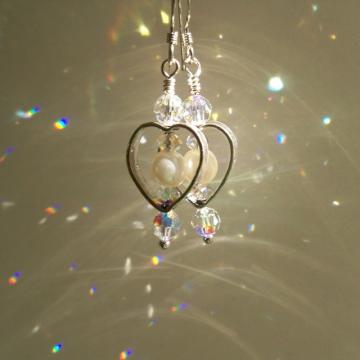 """Open Heart' Earrings"